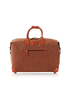 "Life Camel Micro Suede 18"" Duffle Bag  - Bric's"
