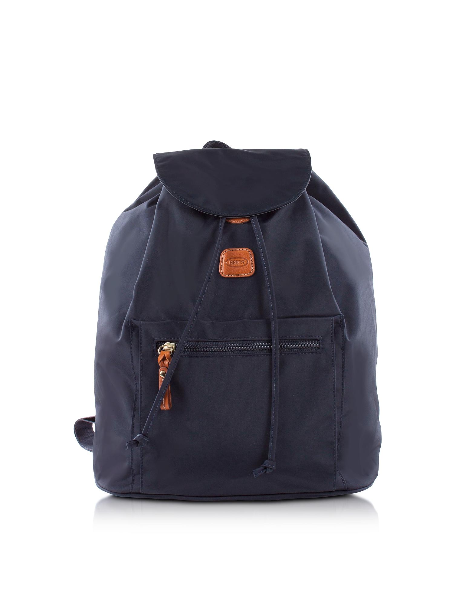 X-Travel Zaino in Nylon Blu