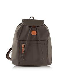 X-Travel Olive Nylon Backpack - Bric's