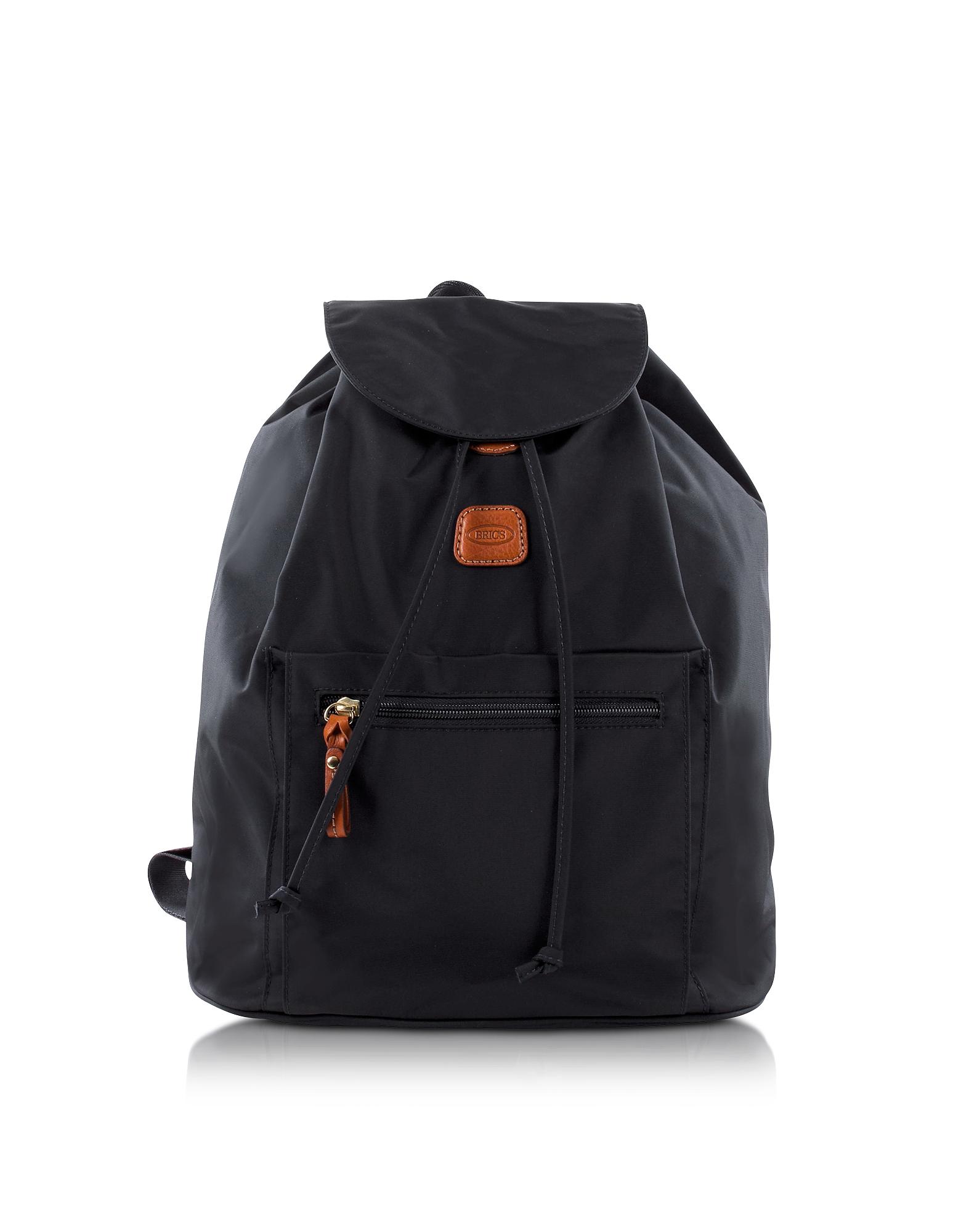 Bric's X-Travel - Черный Рюкзак из Нейлона