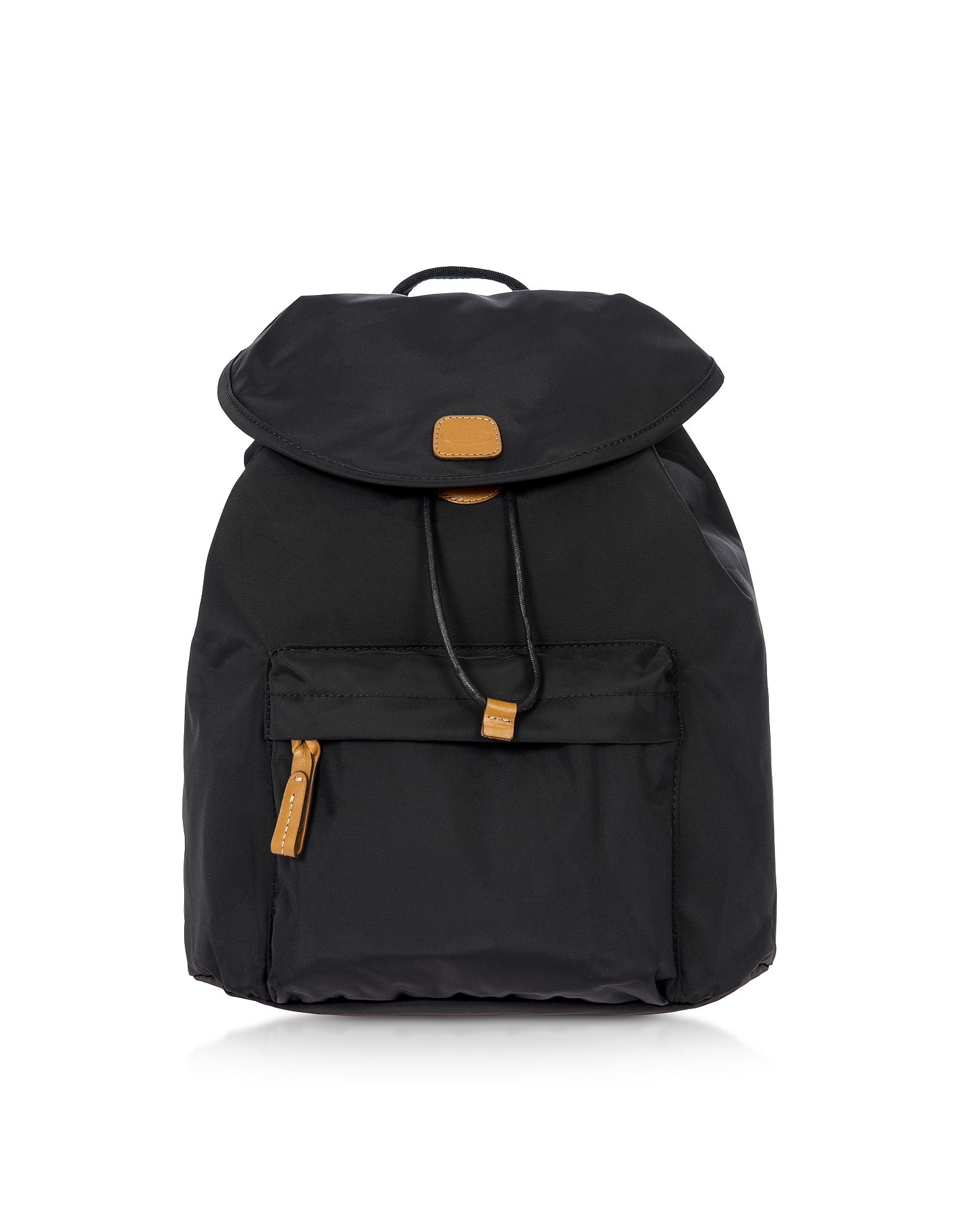 X-Travel Black Nylon Backpack