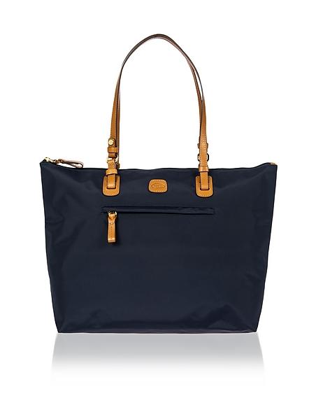 Foto Bric's X-Bag Shopper Grande in Nylon e Pelle Borse Viaggio
