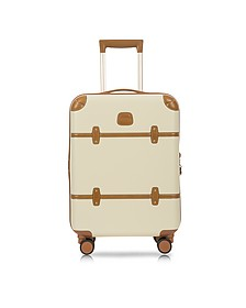 Bellagio V2.0 21 Cream Carry-On Spinner Trunk - Bric's