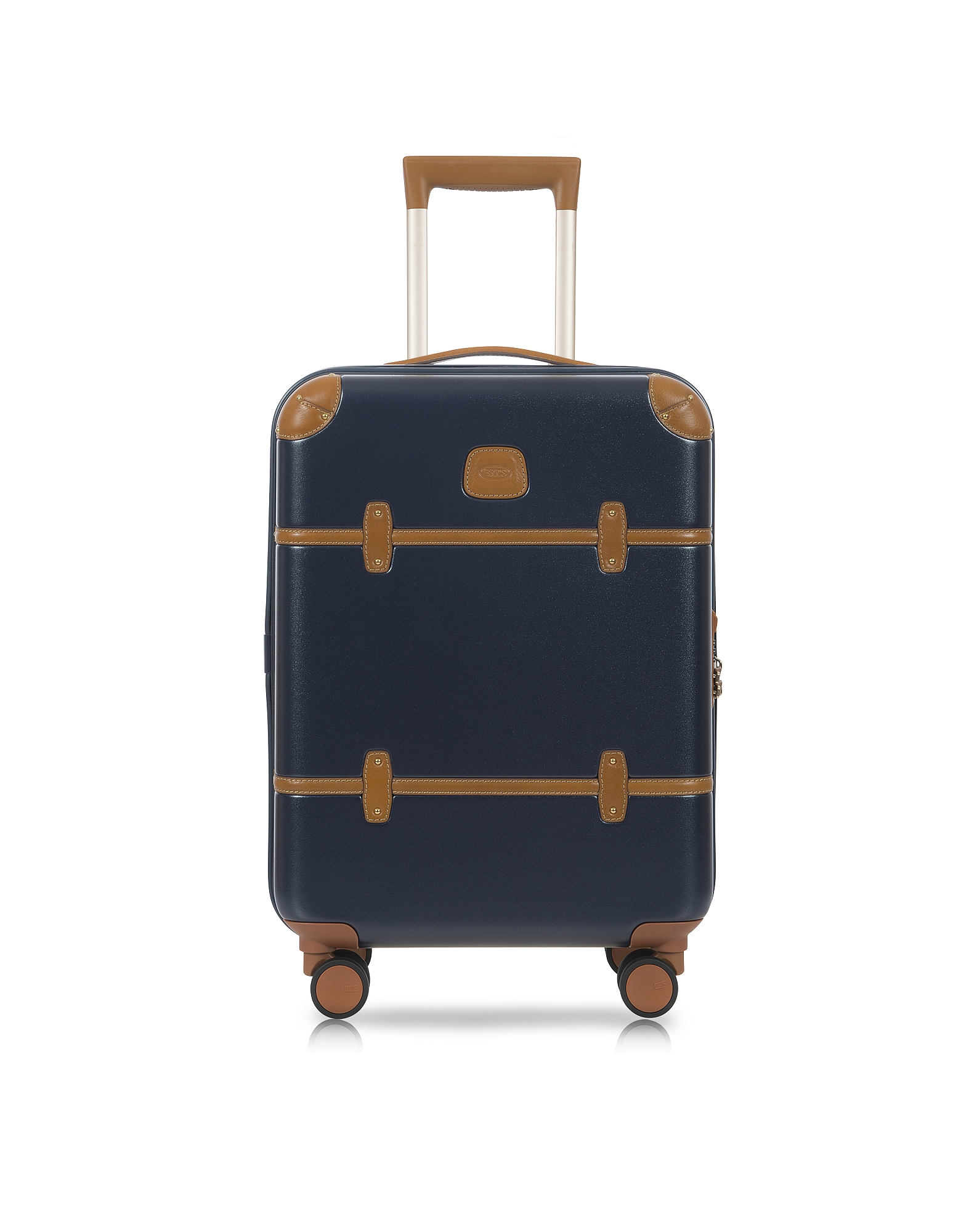 Bric's Travel Bags, Bellagio V2.0 21 Blue Tobacco Carry-On Spinner Trunk