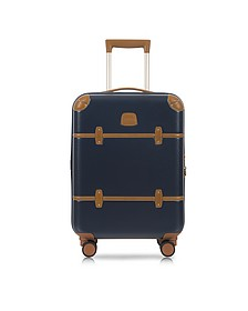 Bellagio V2.0 21 Blue Tobacco Carry-On Spinner Trunk - Bric's