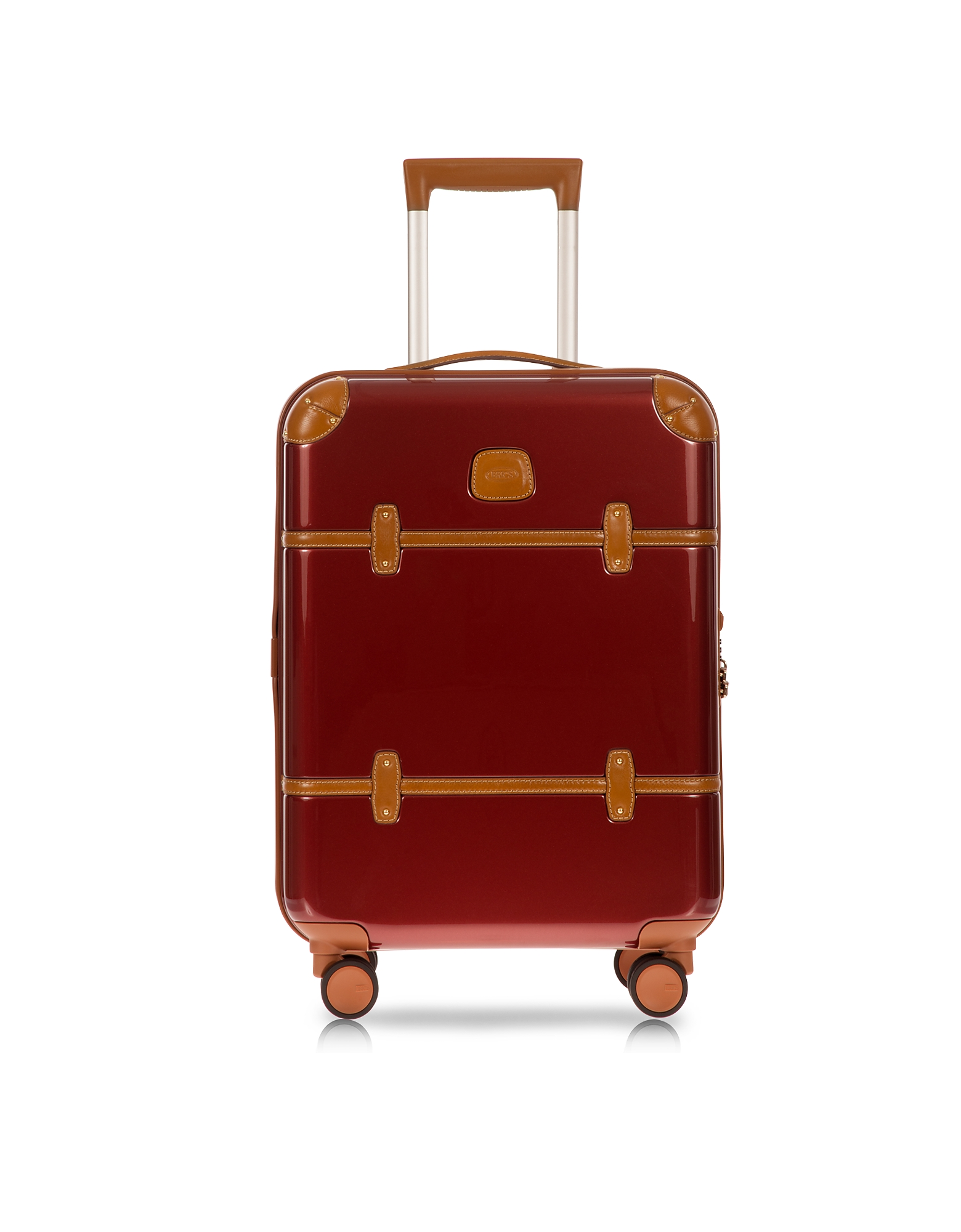 Bric's Travel Bags, Bellagio V2.0 21 Red Carry-On Spinner Trunk