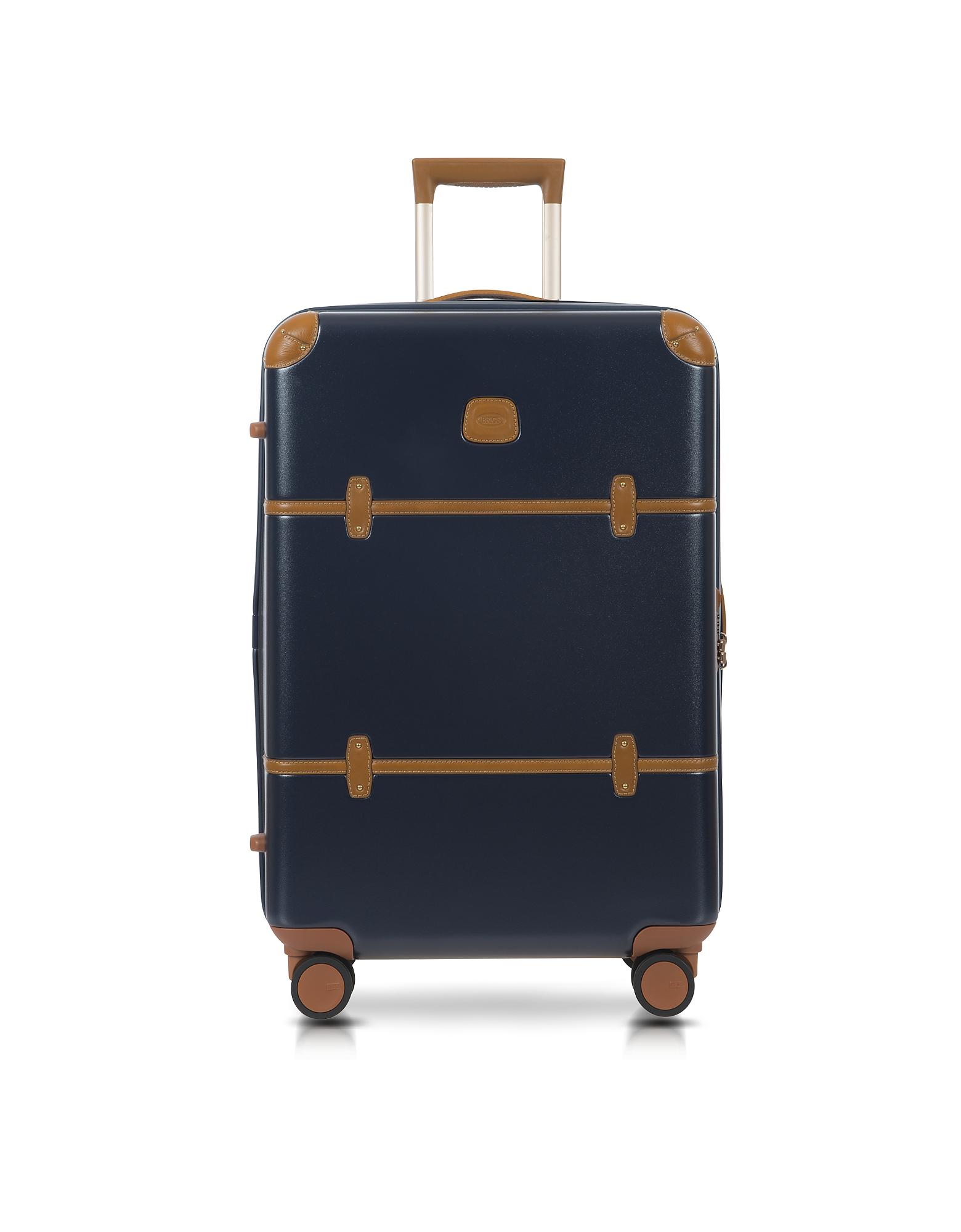 Фото Bellagio V2.0 - Синий и Табачный Троллей 27″ на Колесиках. Купить с доставкой