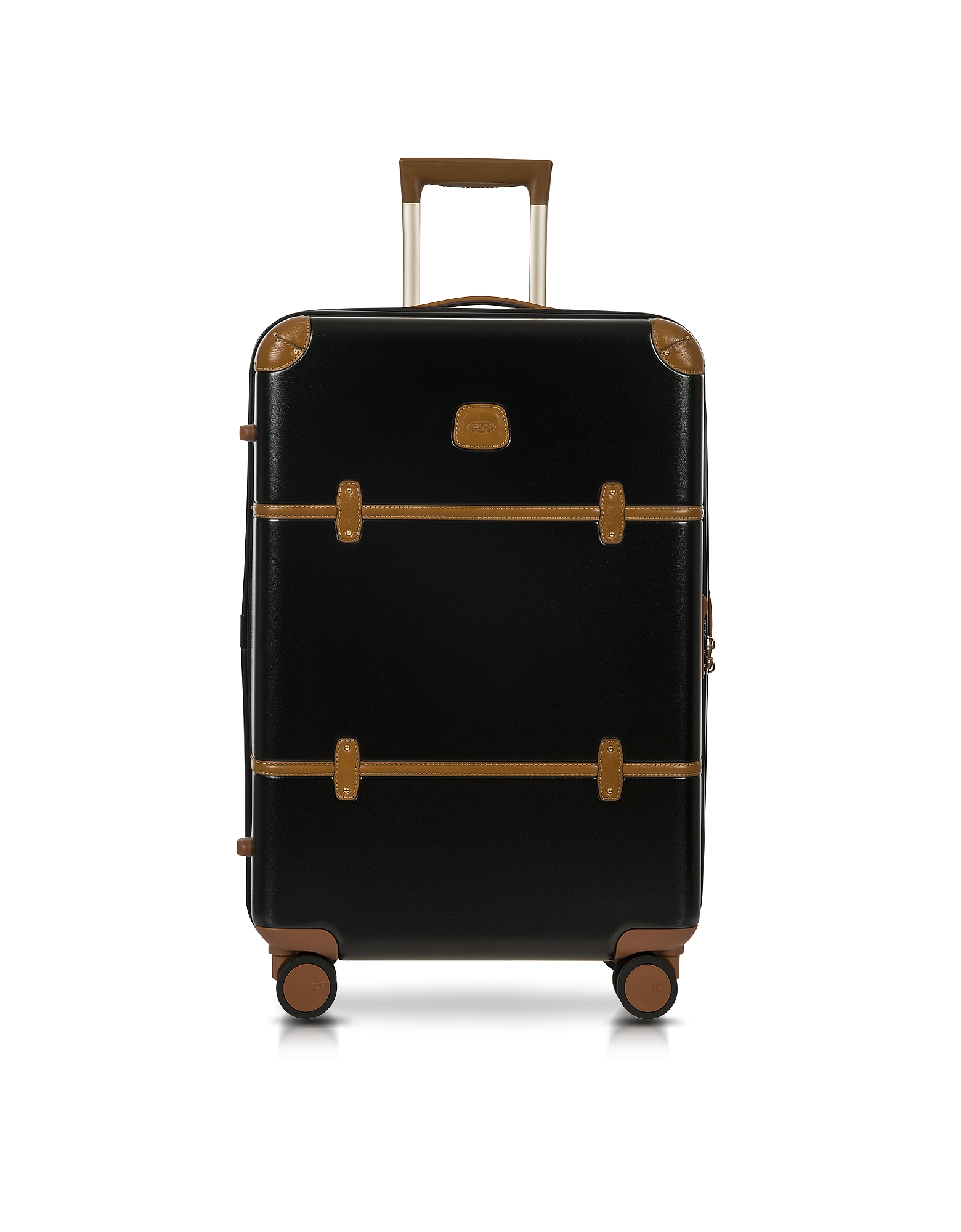 Bric's Travel Bags, Bellagio V2.0 27 Black-Tobacco Spinner Trunk