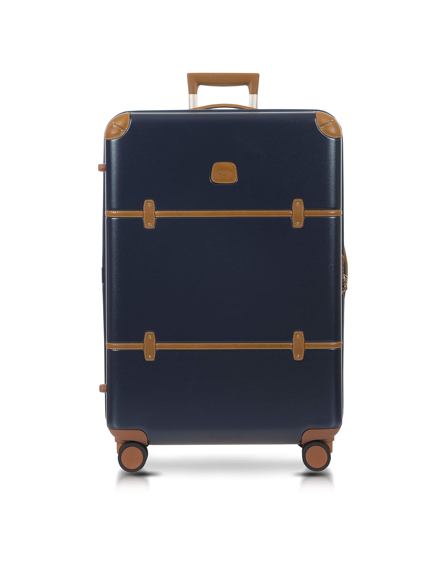 Bellagio V2.0 - Синий и Табачный Чемодан 30″ на Колесиках