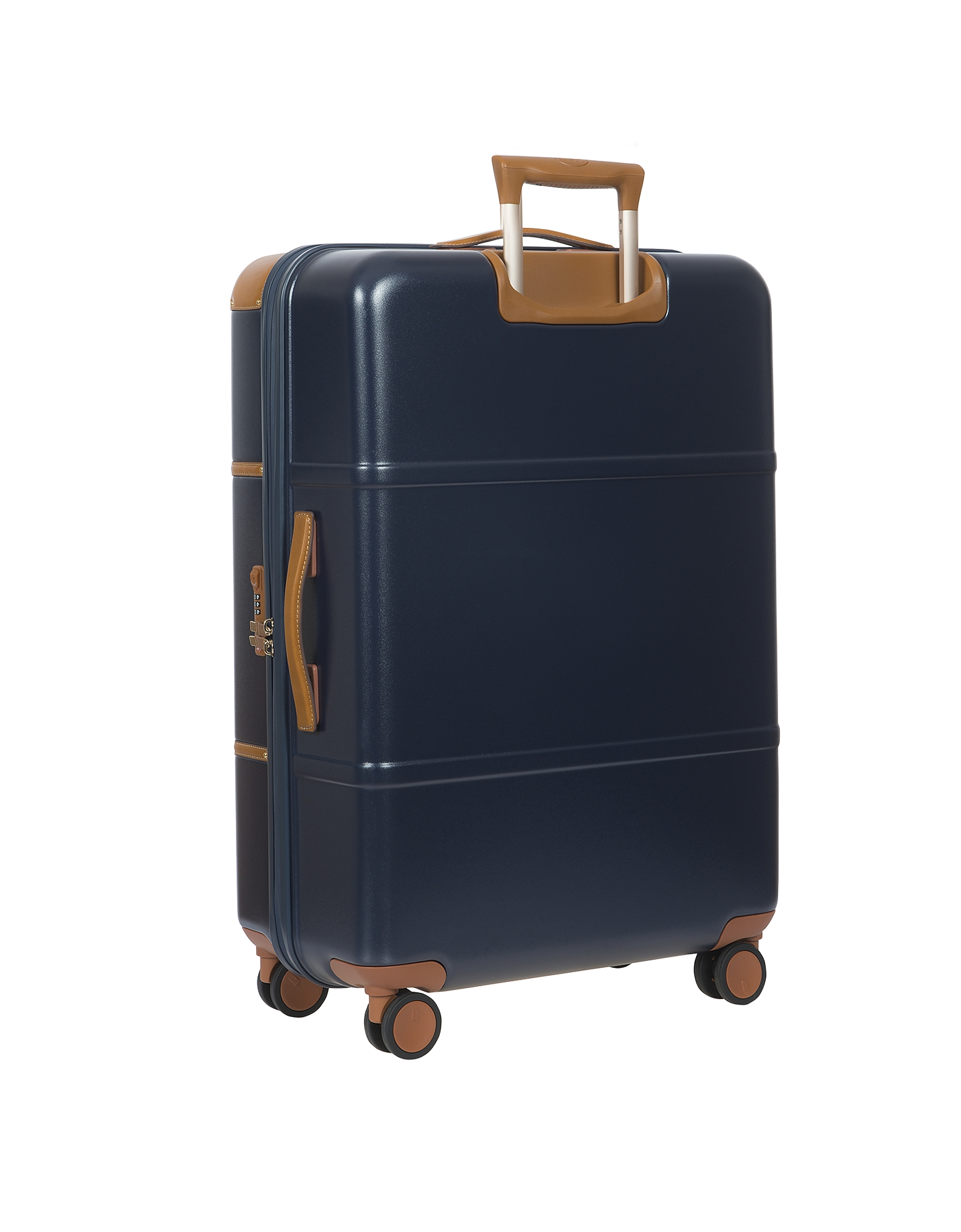 Фото Bellagio V2.0 - Синий и Табачный Чемодан 30″ на Колесиках. Купить с доставкой