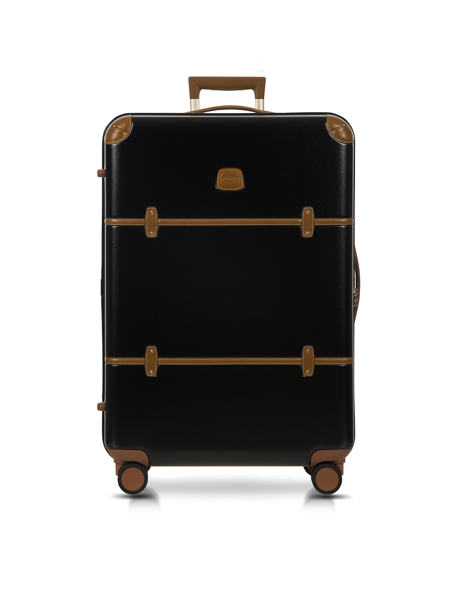 Bric's Travel Bags, Bellagio V2.0 30 Black-Tobacco Spinner Trunk