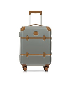 "Bellagio Metallo V2.0 21"" Silver Carry-On Spinner Trunk - Bric's"
