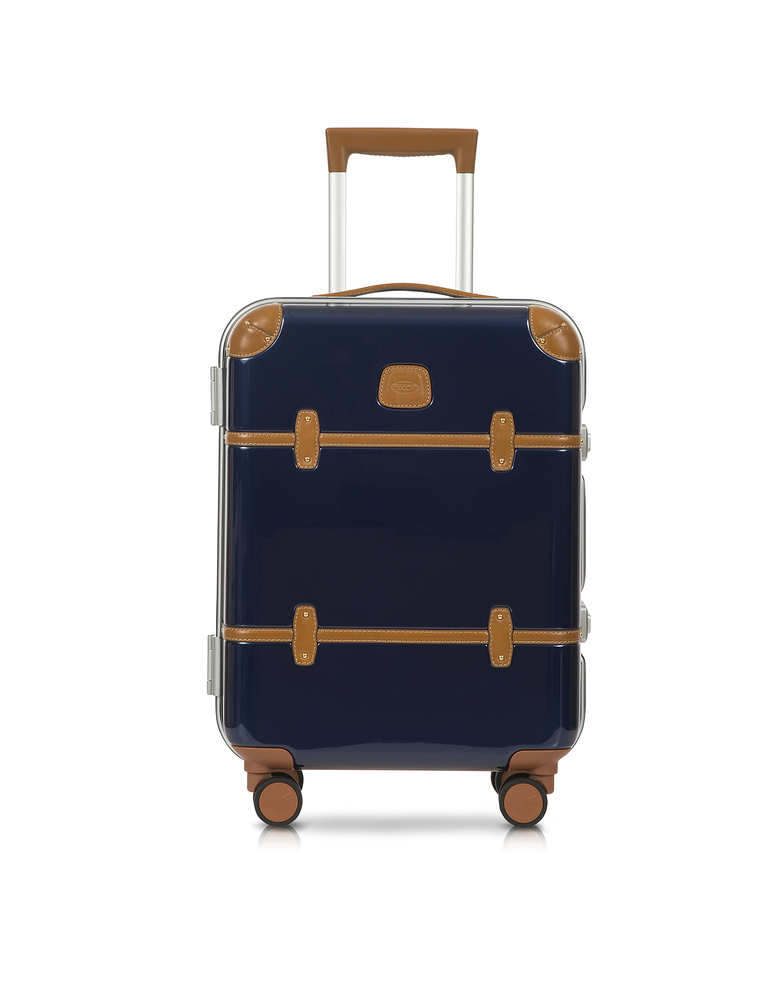 Bellagio Metallo V2.0 - Синий Чемодан Ручная Кладь 21″ на Колесиках