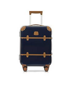 "Bellagio Metallo V2.0 21"" Blue Carry-On Spinner Trunk - Bric's"