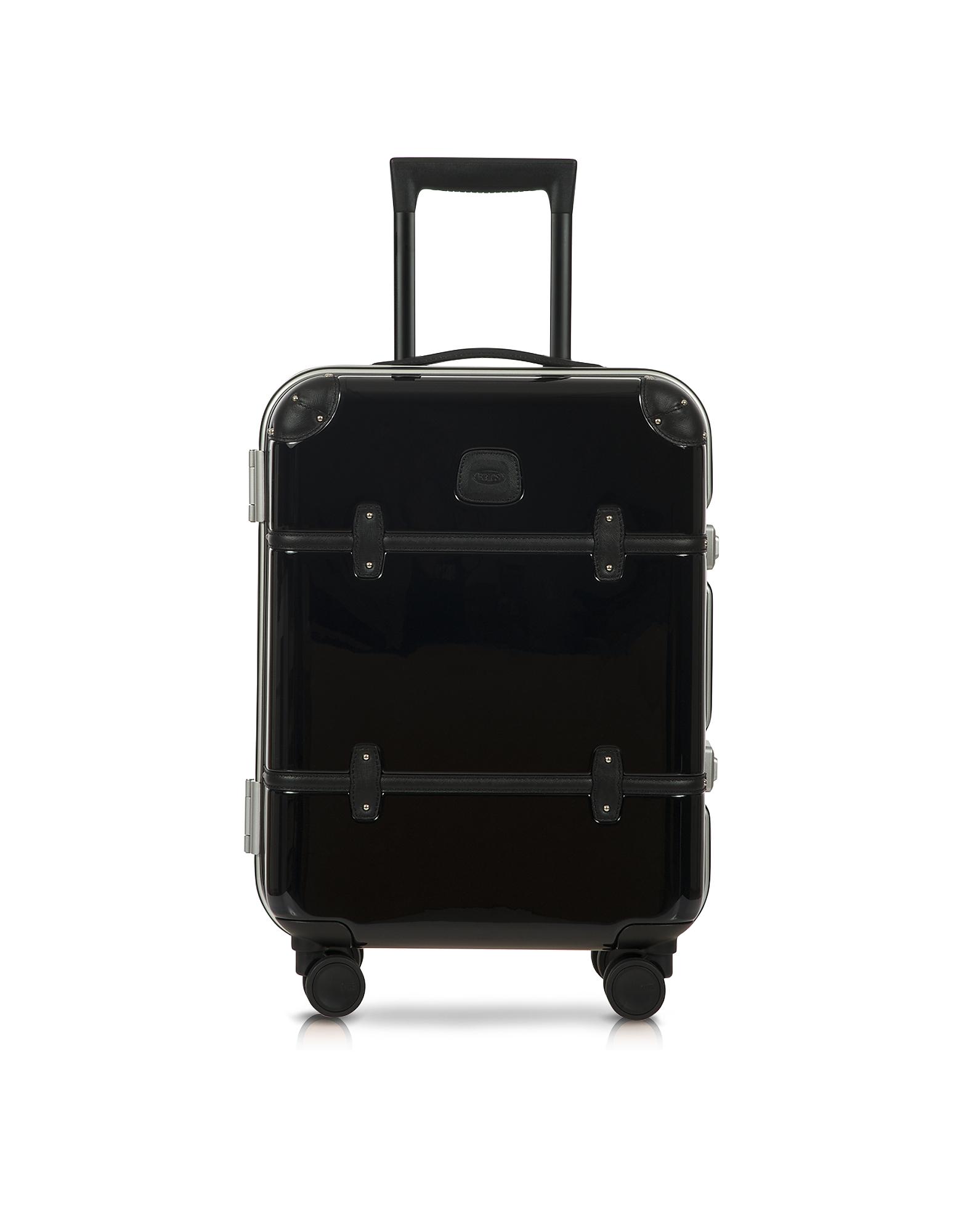 Bellagio Metallo V2.0 - Черный Чемодан Ручная Кладь 21? на Колесиках