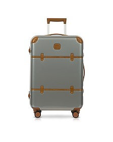 Bellagio Metallo V2.0 25 Silver Carry-On Spinner Trunk - Bric's
