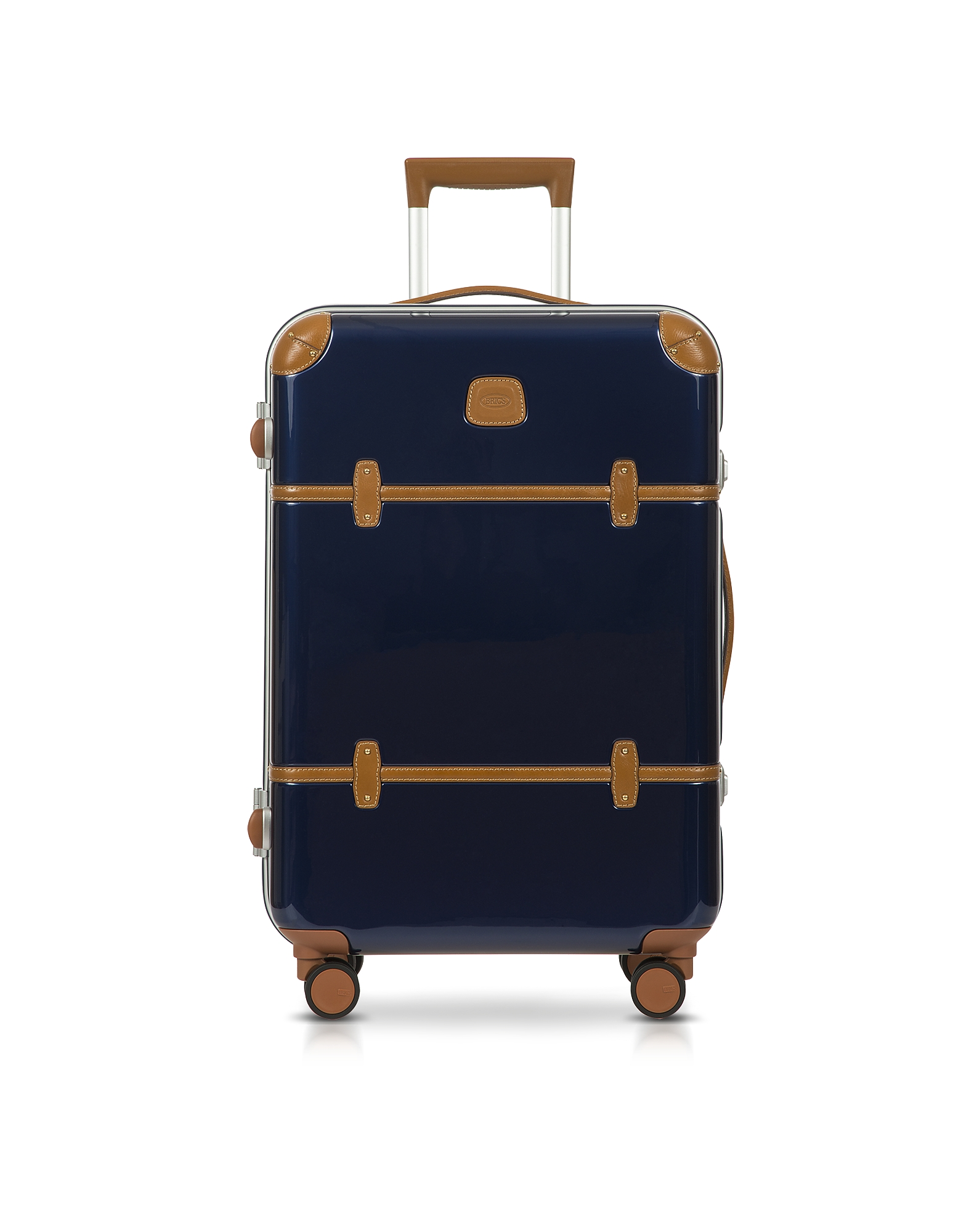 Bric's Travel Bags, Bellagio Metallo V2.0 25 Blue Carry-On Spinner Trunk