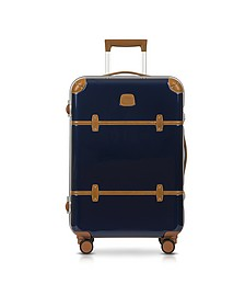 Bellagio Metallo V2.0 25 Blue Carry-On Spinner Trunk - Bric's