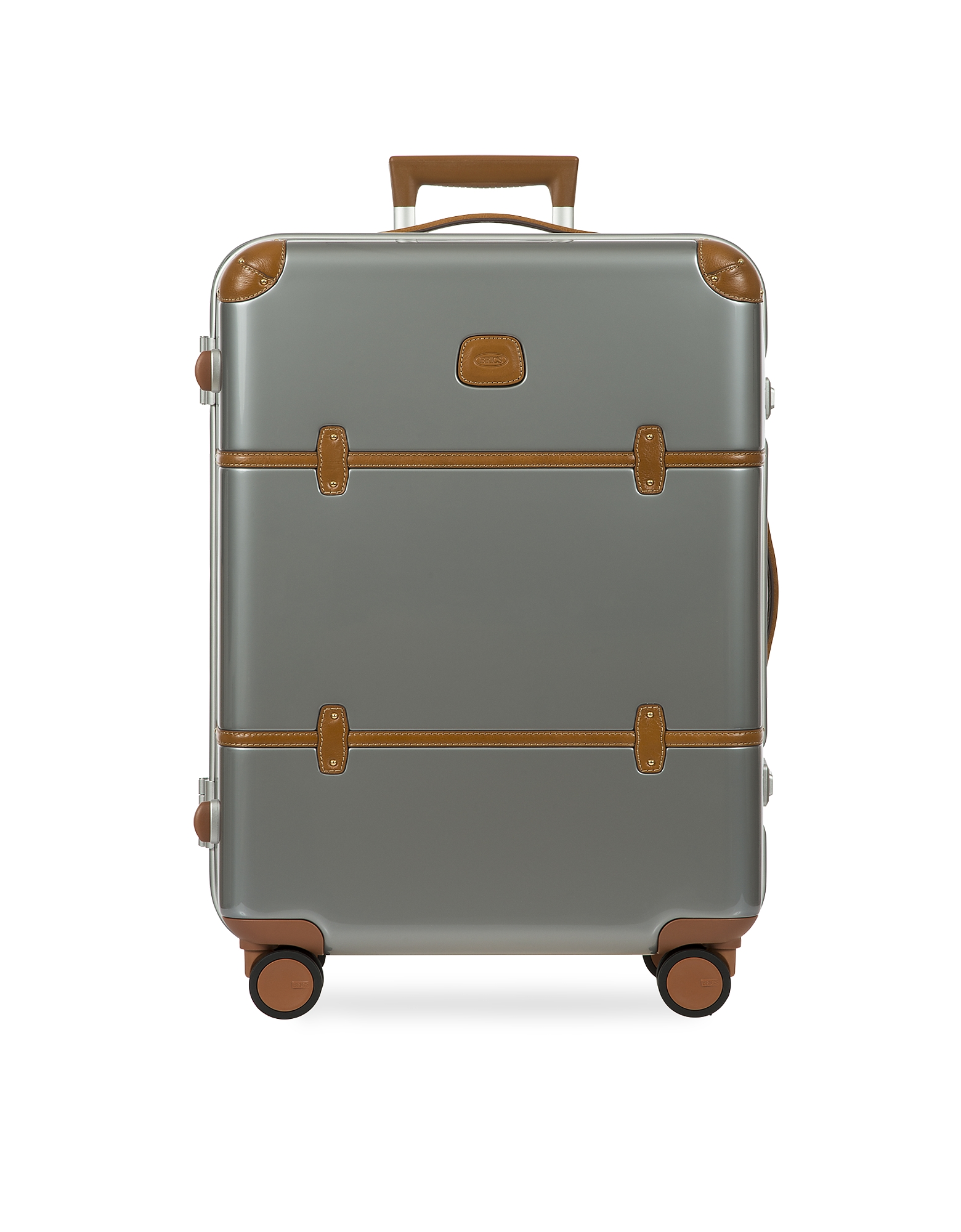 Bric's Travel Bags, Bellagio Metallo V2.0 27 Silver Spinner Trunk