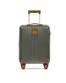Capri Grey Polycarbonate Hard Case Cabin Trolley - Bric's