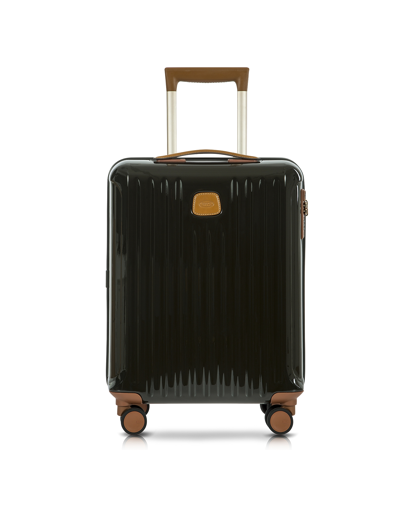 Bric's Travel Bags, Capri Olive Polycarbonate Hard Case Cabin Trolley