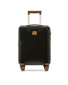 Capri Olive Polycarbonate Hard Case Cabin Trolley - Bric's