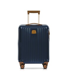 Capri Night Blue Polycarbonate Hard Case Cabin Trolley - Bric's