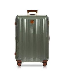 Capri Gray Polycarbonate Large Trolley - Bric's