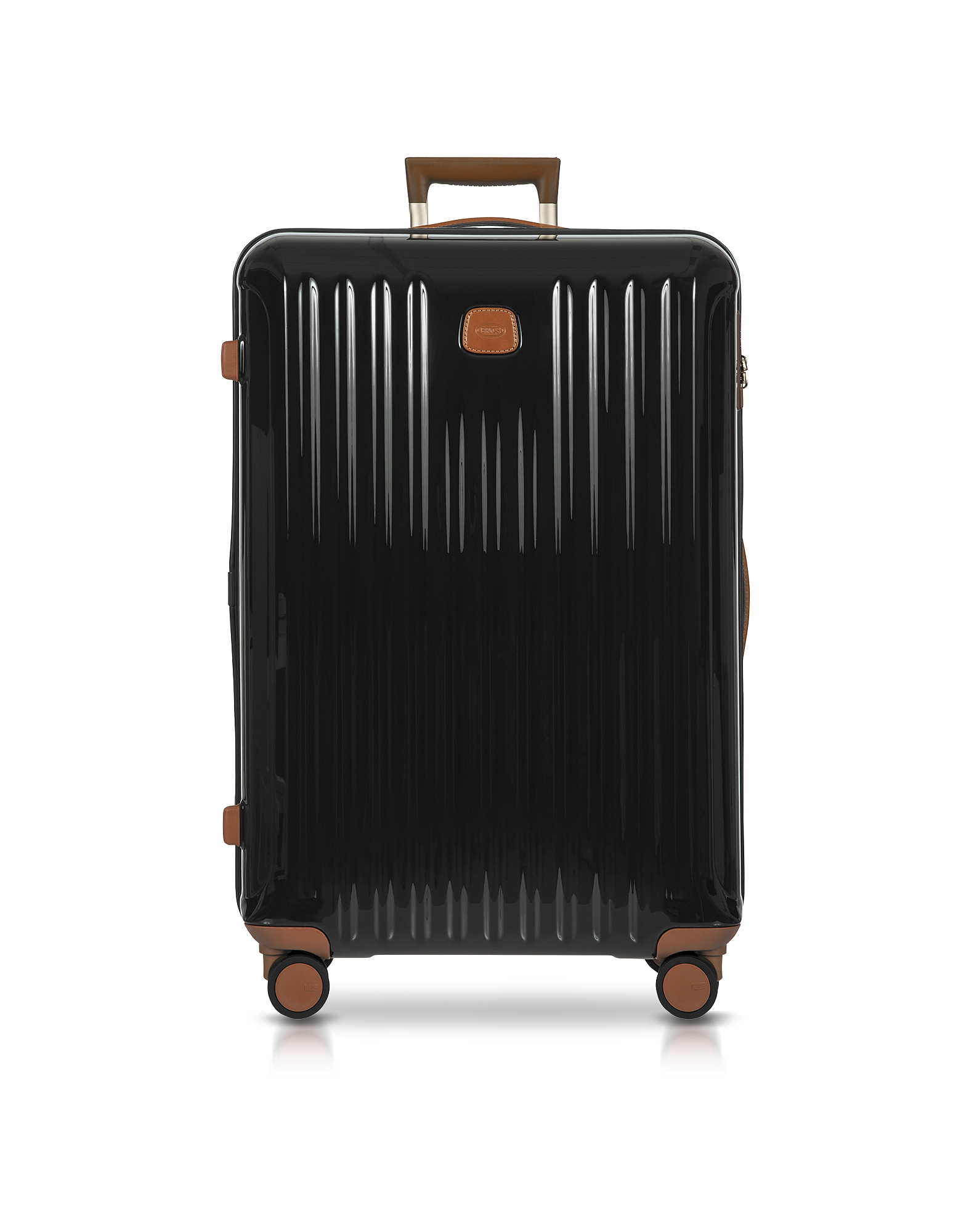 Bric's Travel Bags, Capri Olive Polycarbonate Large Trolley