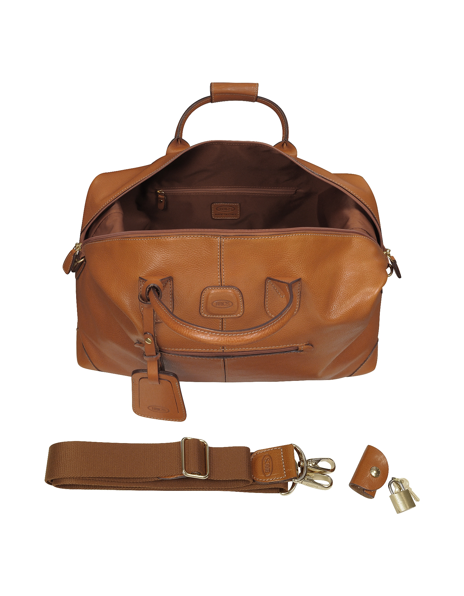 Life Pelle - Medium Leather Travel Bag от Forzieri INT