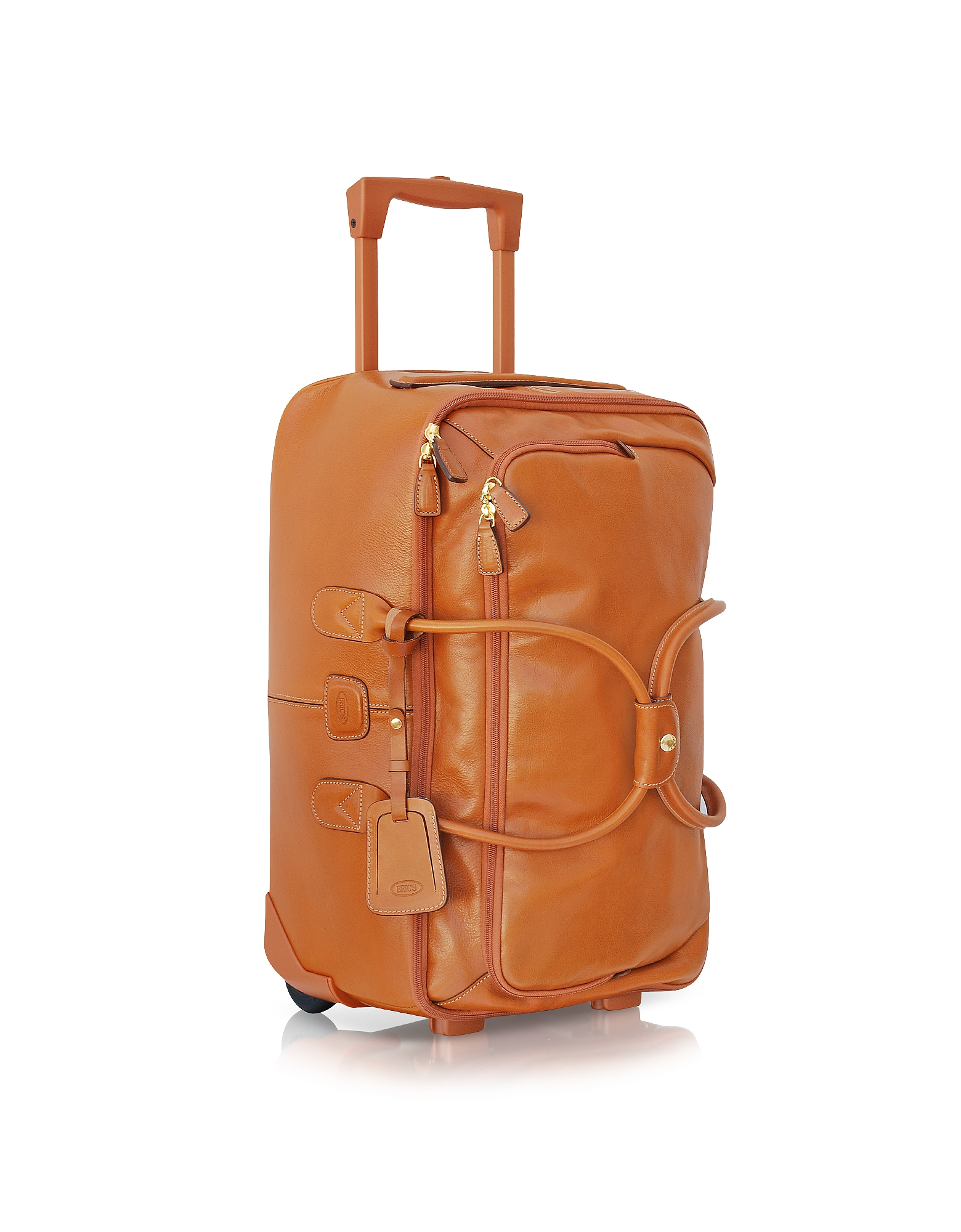 Bric's Designer Travel Bags,  Life Pelle - Large Rolling Duffle Bag