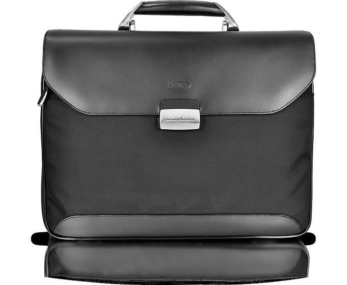 Pininfarina Soft -Leather and Nylon Briefcase - Bric's