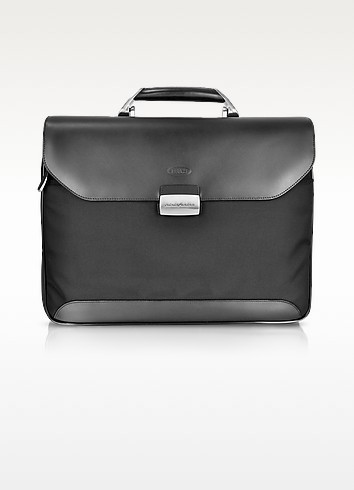 Pininfarina Soft -Leather and Nylon Briefcase - Bric's