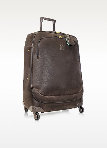 Life - Micro-Suede Large Trolley with Spinners - Bric's