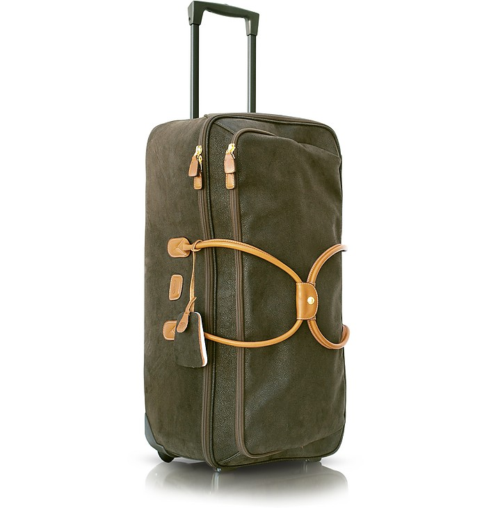 Life - Micro-Suede Rolling Trolley - Bric's