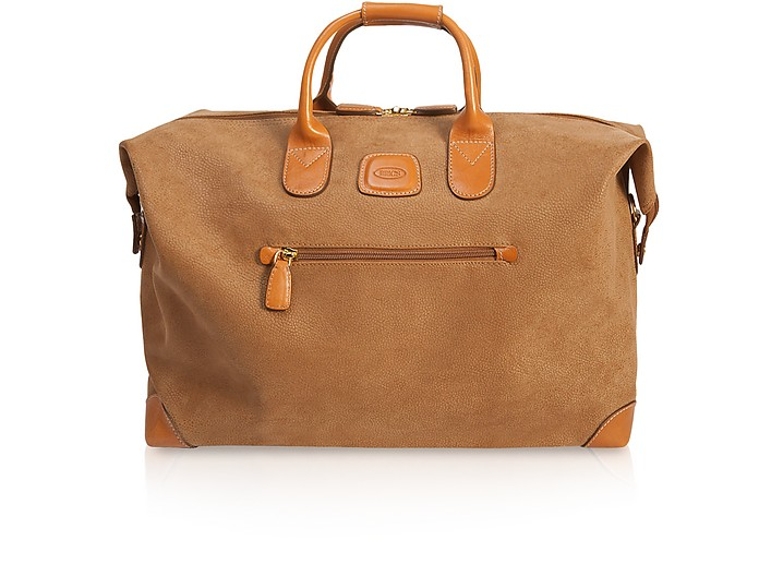 """Life Micro-Suede 18"""" Duffle Bag - Bric's"""