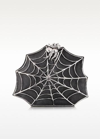 Pochette en poulain Toile d'araignée - Bernard Delettrez