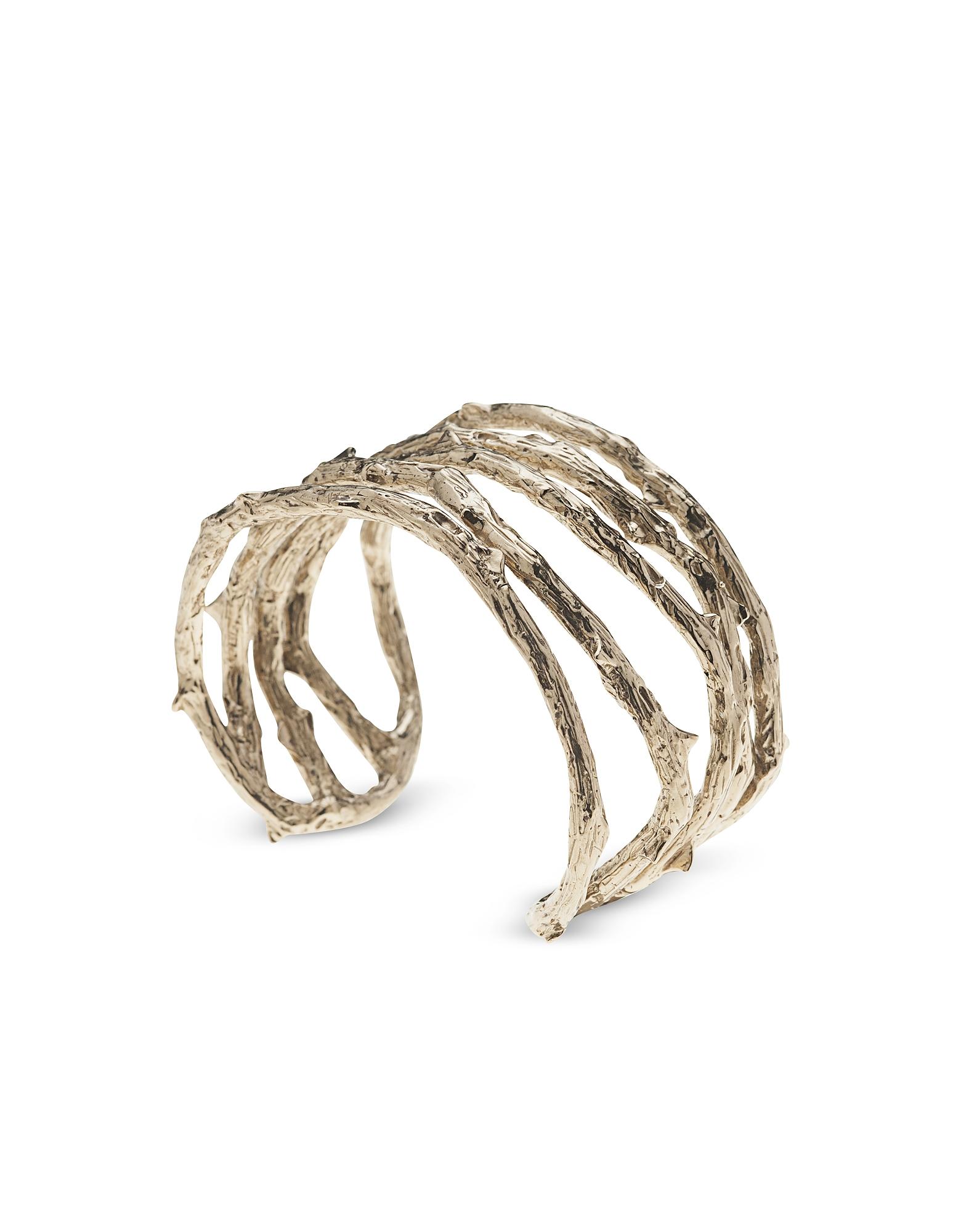 Bronze Thorny Cuff Bracelet