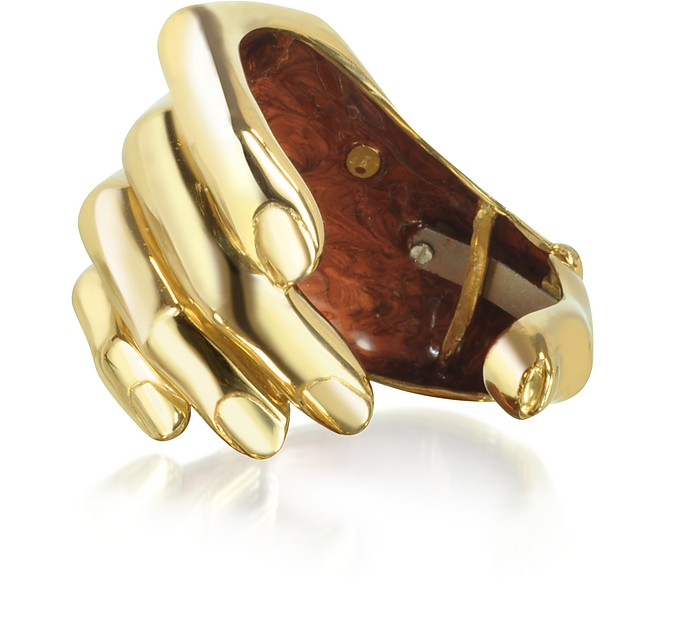 Armband aus vergoldeter Bronze - Bernard Delettrez