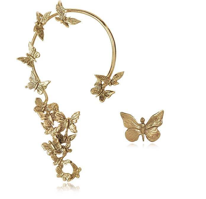 Butterflies Bronze Ear Cuff - Bernard Delettrez