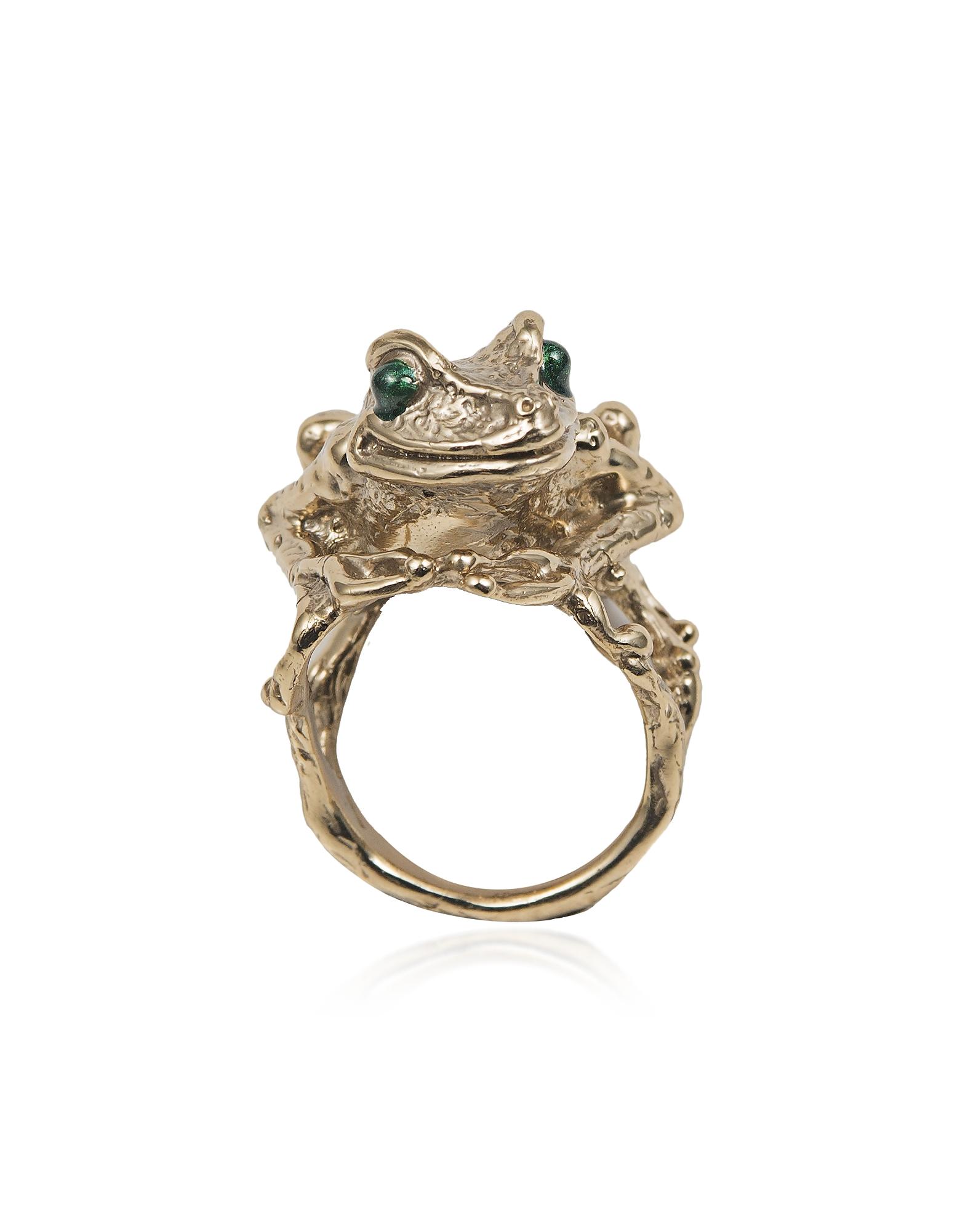 Big Froggy Bronze Ring