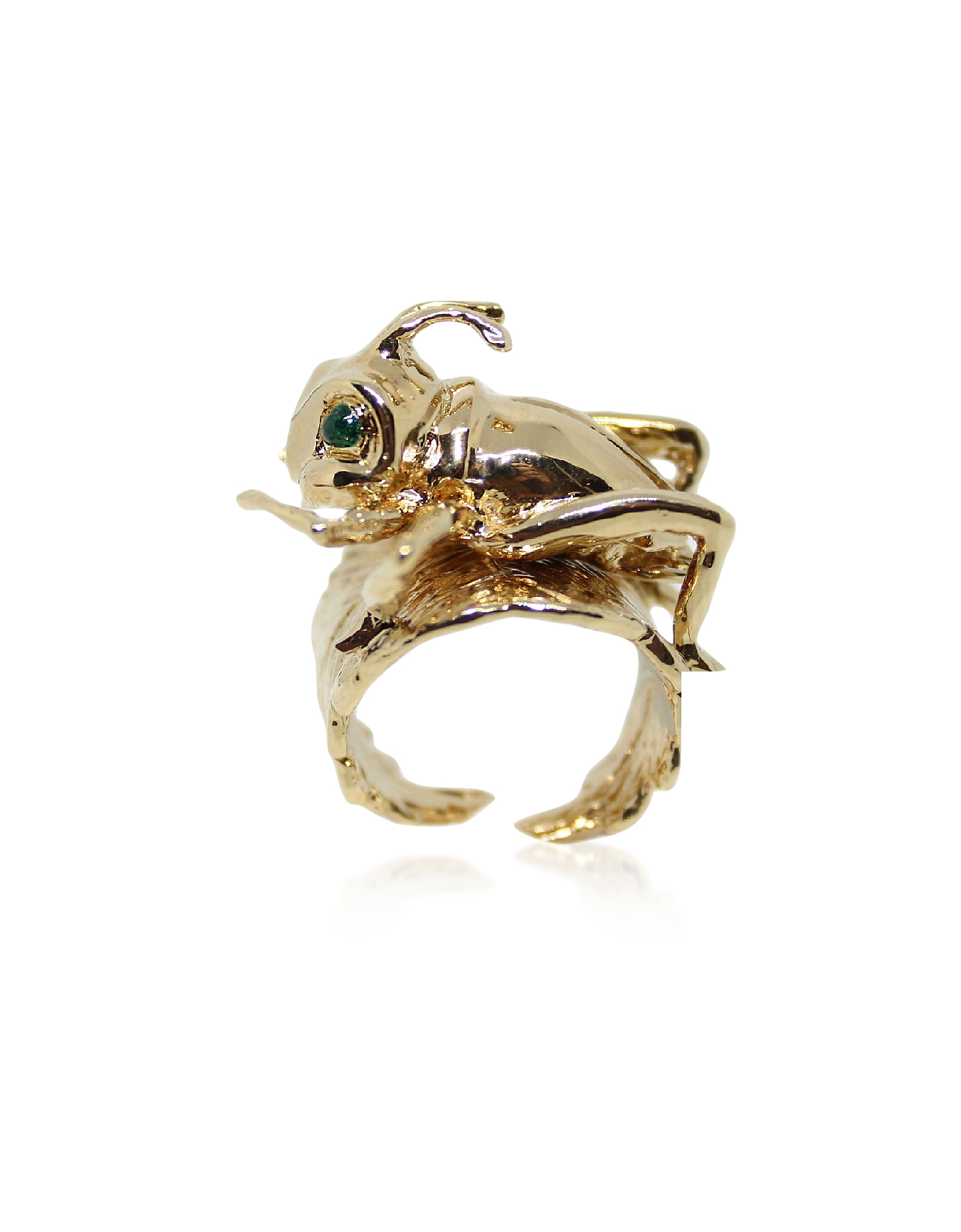 Cricket Bronze Ring