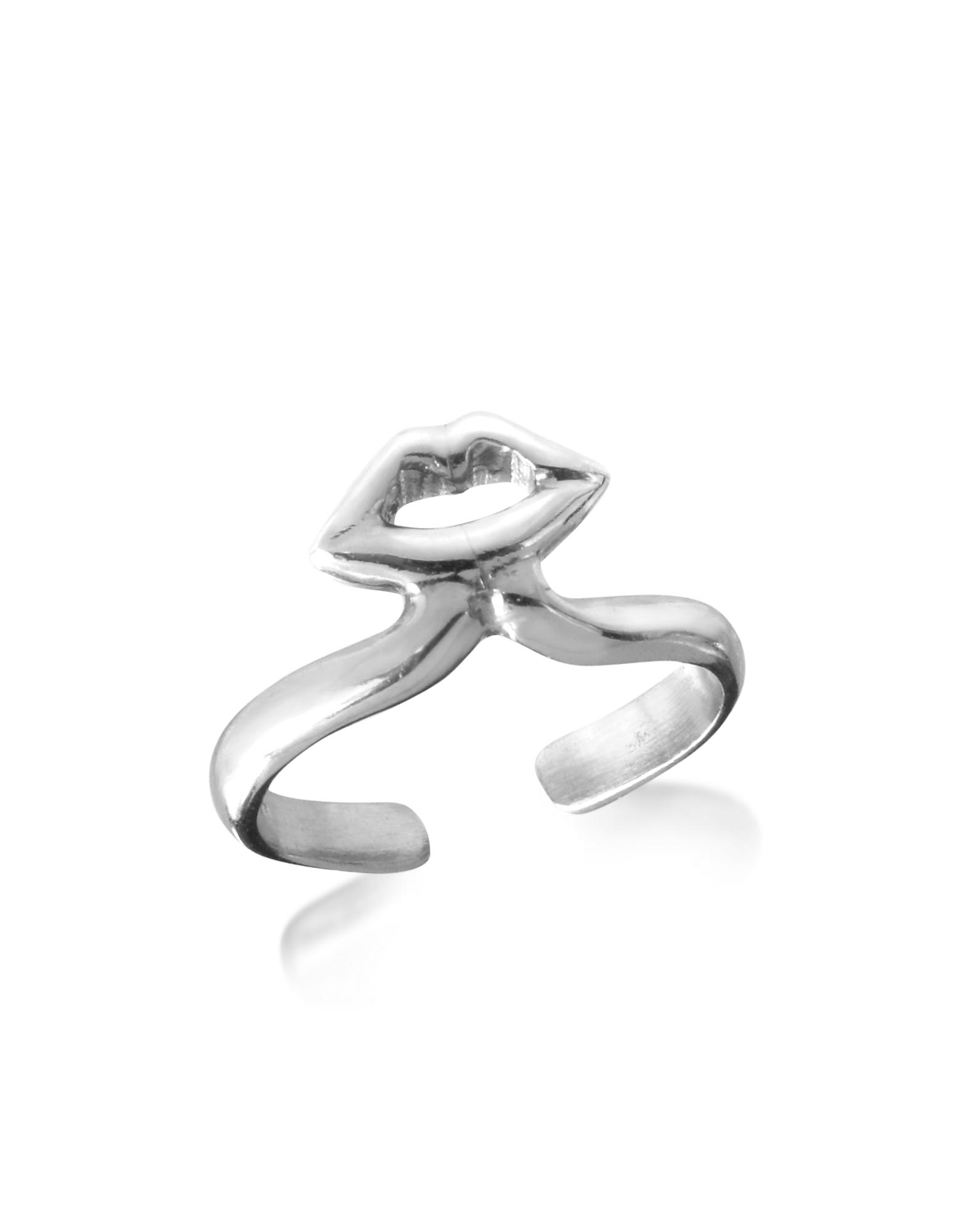 Серебрянное Кольцо с Губами