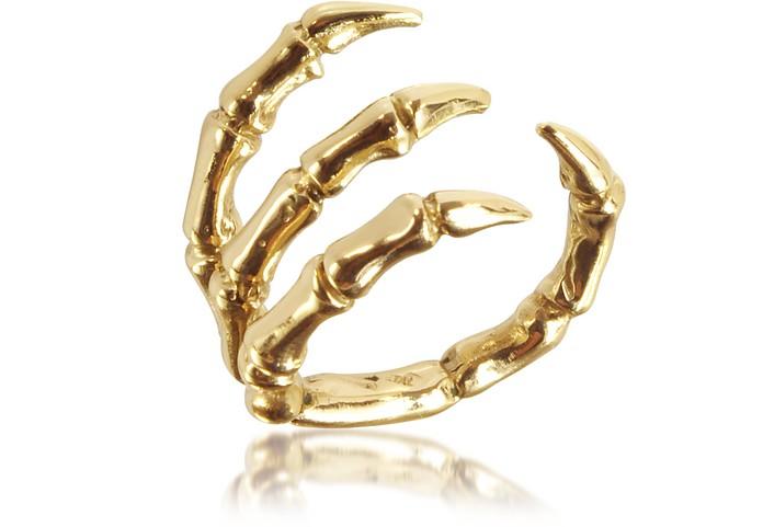 Golden Brid Claw Bronze Ring - Bernard Delettrez