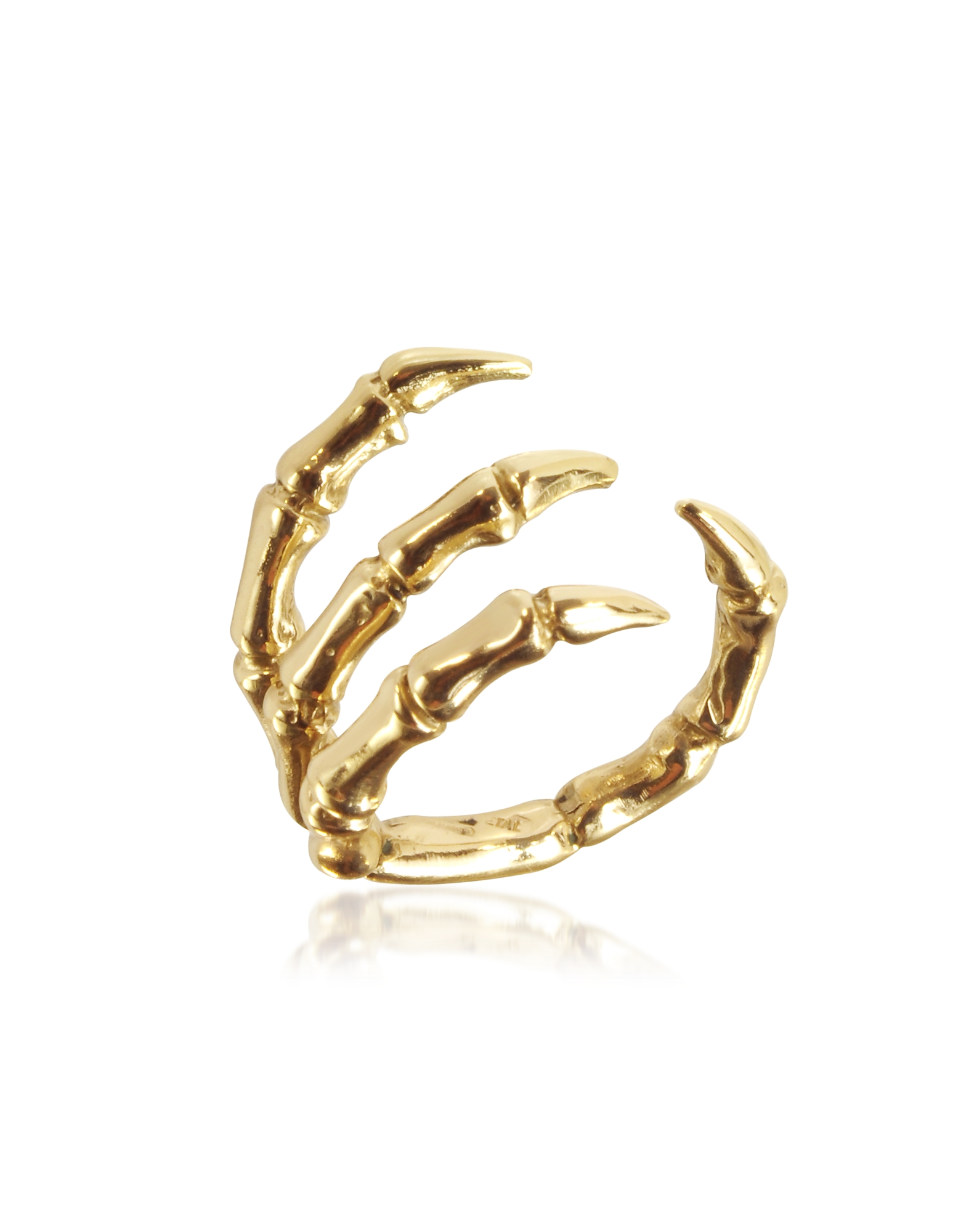 Golden Brid Claw Bronze Ring