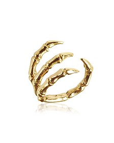 Golden Brid Claw Bronze Ring - Bernard Delettrez
