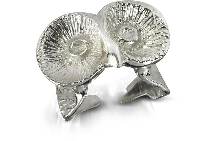 Silver Little Owl Ring - Bernard Delettrez