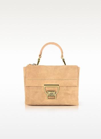 Cuoio Suede Arlettis Mini Bag w/Shoulder Strap - Coccinelle
