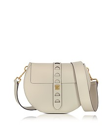 Carousel Large Seashell Leather Crossbody Bag - Coccinelle