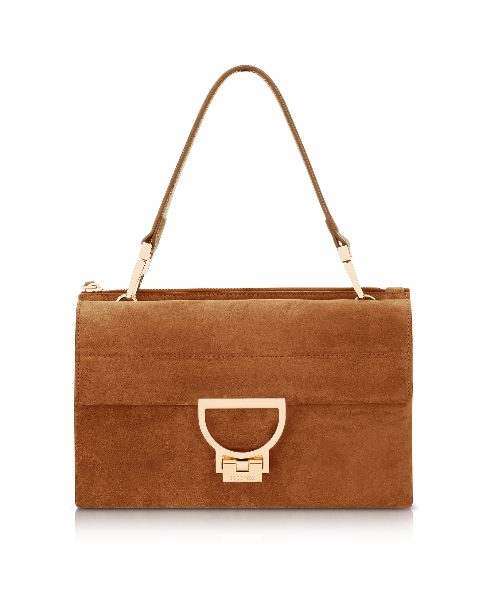 Coccinelle Handbags, Brule Suede Arlettis Shoulder Bag